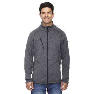 North End Sport Red Men's Peak Sweater Fleece Jacket