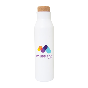 Wilson 620 ml. (21 oz.) Bottle with Cork Lid