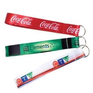 "3/4"" Sublimated Split Ring Wrist FOB"